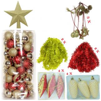 ornamente brad pachet premium